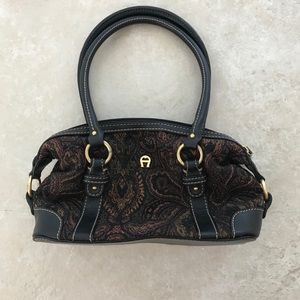 Etienne Aigner Satchel Handbag Purse Bag